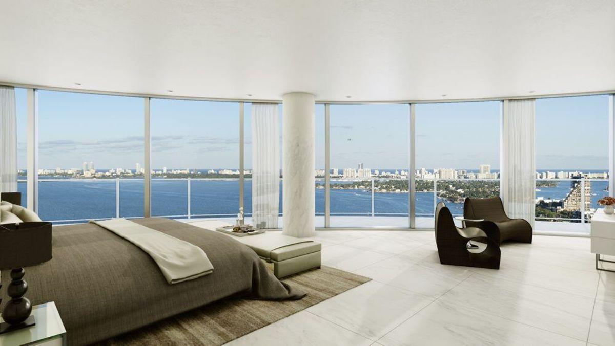 Interni Case Di Lusso Foto aria on the bay - appartamenti di lusso a miami